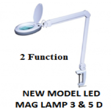5D Magnifying Lamp with 80 LEDs