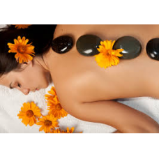 Relaxation Body Massage and Hot Stones Techniques