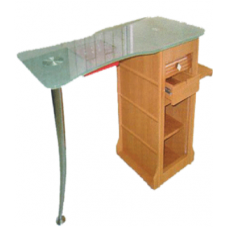 Manicure Table w / Glass top